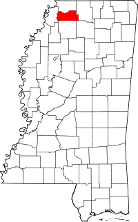 Tate County vital records