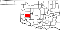 Washita County vital records