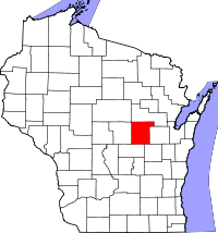 Waupaca County vital records