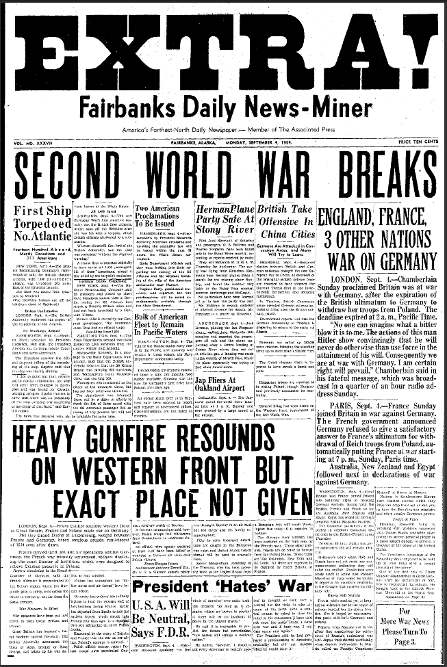 world war 2 articles