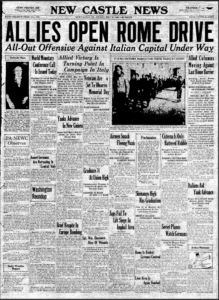 World War 2 Articles | Newspapers & Records
